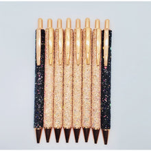 Load image into Gallery viewer, Everything I Touch Turns to Gold - Shimmering Glitter Pen - The Dallas Gordon Collection