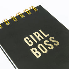 Load image into Gallery viewer, Girl Boss - Petite Black & Gold Journal - The Dallas Gordon Collection