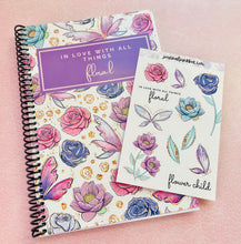 Load image into Gallery viewer, Flower Child Journal & Sticker Collection - The Dallas Gordon Collection