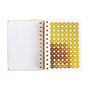 Get Stuff Done - Off White Mini Planner with Gold Foil - The Dallas Gordon Collection
