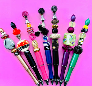 I'm so luxurious - Handcrafted Luxury Bead Pens - The Dallas Gordon Collection