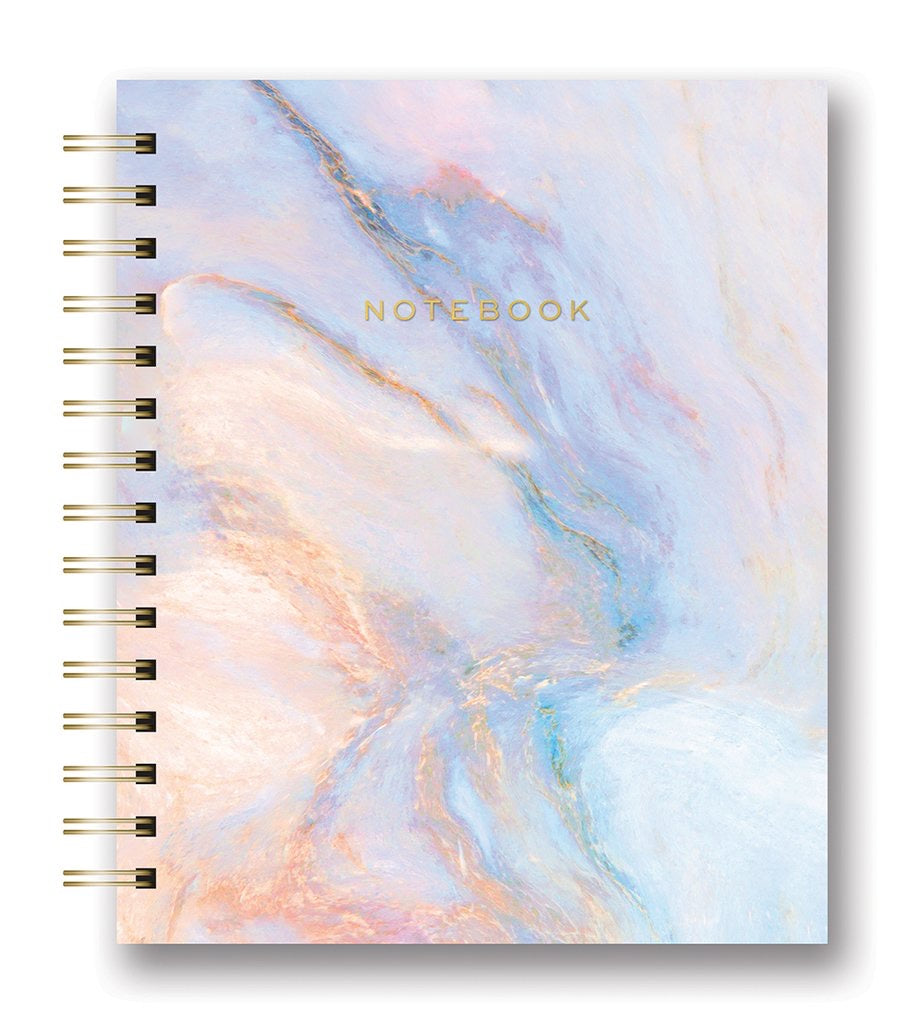 Swirl - Marble Spiral Tabbed Notebook - The Dallas Gordon Collection