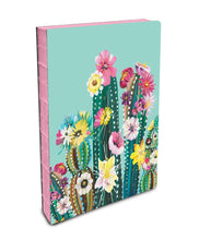 Load image into Gallery viewer, Desert Blooms - Coptic Bound Journals with Pink Edged Pages - The Dallas Gordon Collection