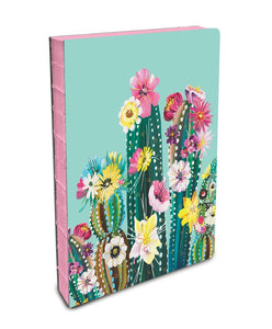 Desert Blooms - Coptic Bound Journals with Pink Edged Pages - The Dallas Gordon Collection