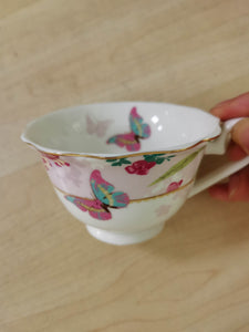 Spring Butterfly's Teacup - The Dallas Gordon Collection