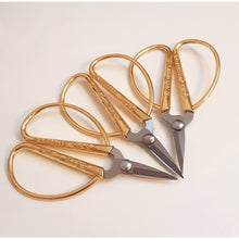 Load image into Gallery viewer, Dainty - Gold Mini Scissors - The Dallas Gordon Collection