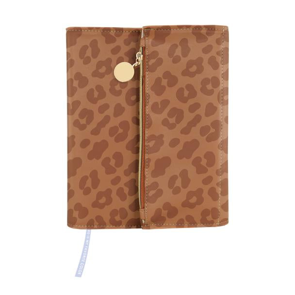 Cheetah Print Clutch Journal - The Dallas Gordon Collection