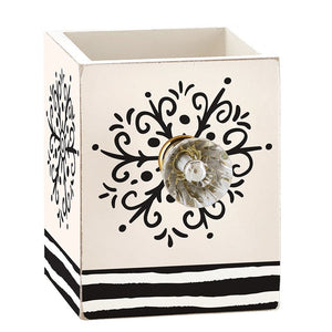 Holiday Fashion Pen Holder with Decorative Crystal Knob - *Closeout* - The Dallas Gordon Collection