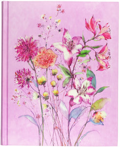 Watercolor Flowers Journal
