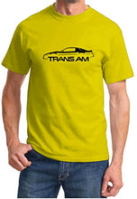 Load image into Gallery viewer, 1982-92 Pontiac Trans Am Firebird Classic Outline Design Tshirt