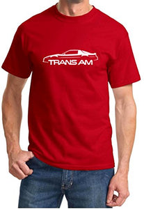 1982-92 Pontiac Trans Am Firebird Classic Outline Design Tshirt