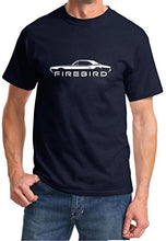 Load image into Gallery viewer, 1967 1968 Pontiac Firebird Coupe Classic Outline Design Tshirt