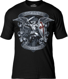 7.62 Design Saint Michael 'Defend Us' Men's T-Shirt