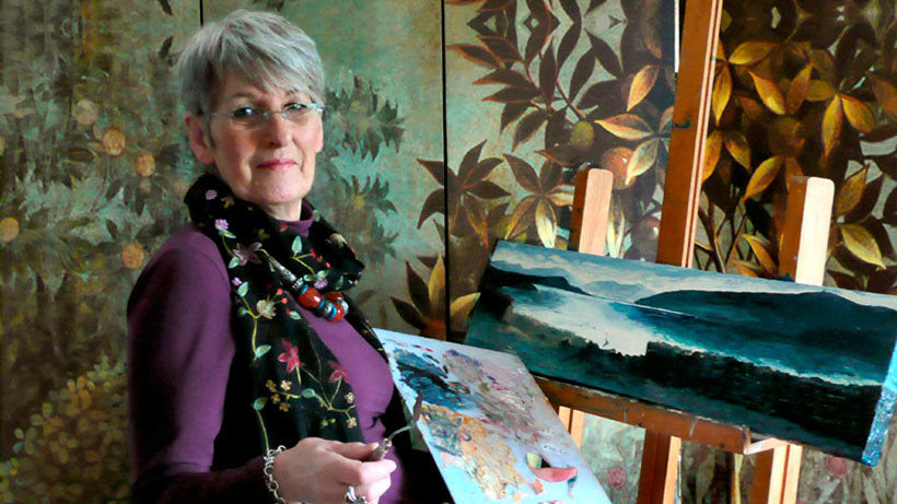 June McIntyre of Dingle Artworks