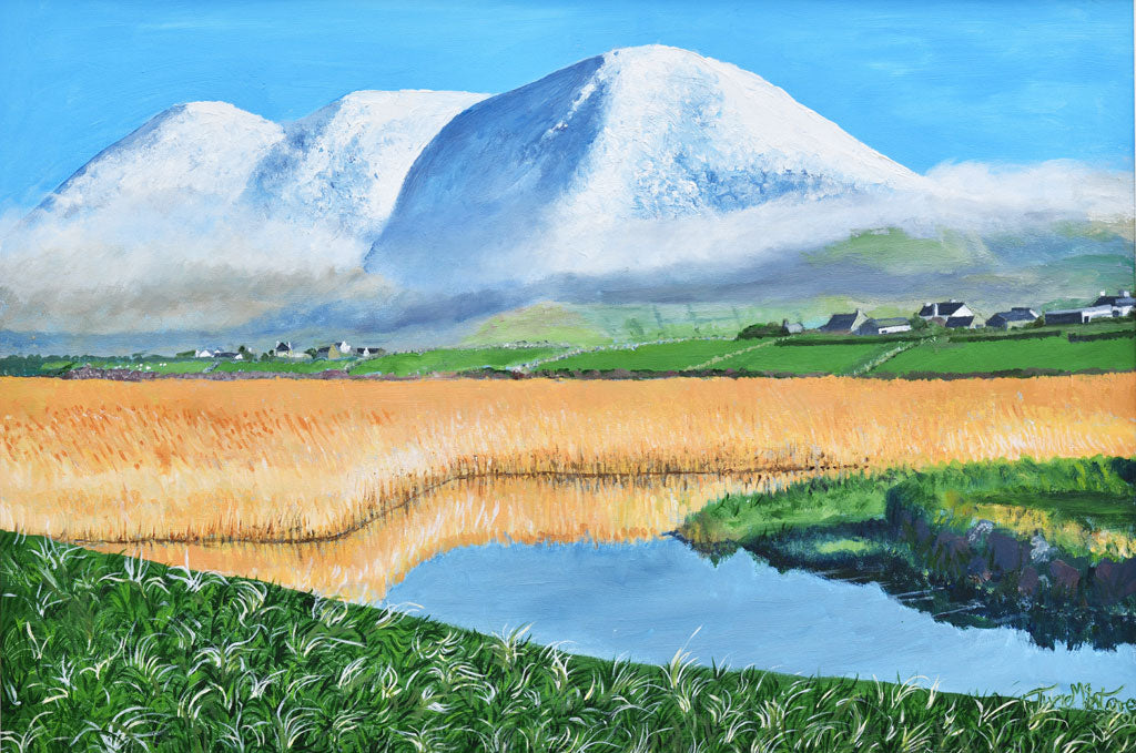 Mount Brandon in Winter Original