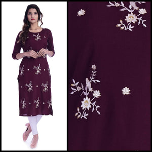Lemon Tart CUTS291 Embroidered Unstitched Cotton Kurti