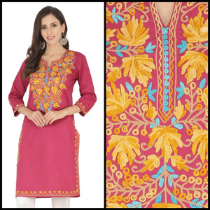 Lemon Tart CUTS293 Embroidered Unstitched Cotton Kurti