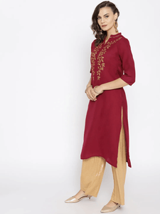 Lemon Tart CUTS31 Embroiderd Unstitched Cambric Kurti