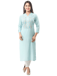 Lemon Tart CUTS51 Embroiderd Unstitched Cambric Kurti
