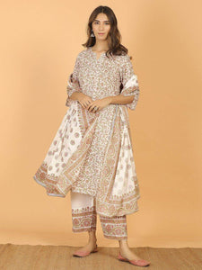 Lemon Tart KHLUS331 3 Piece Printed Unstitched Khaddar Suit with Khaddar Shawl