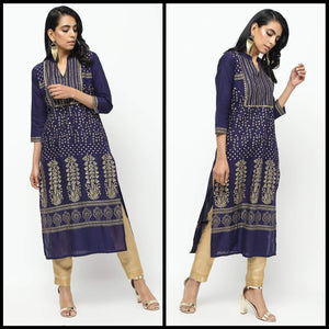 Lemon Tart LTSV10 Staple Viscose Printed Kurti