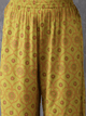 Lemon Tart LTUS134 2 Piece Gold Foil Block Printed Unstitched Set