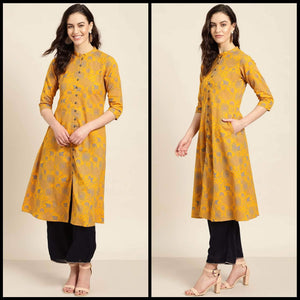 Lemon Tart LTUS198 1 Piece Printed Unstitched Lawn Kurti