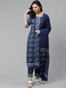 Lemon Tart LTUS421 3 Piece Printed Unstitched Lawn Suit