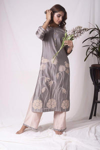 Lemon Tart Unstitched Blended Silk Embroidered 2 Piece Suit WLUF4
