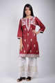 Lemon Tart Unstitched Cotton Embroidered WLUF231 Kurti