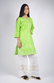 Lemon Tart Unstitched Cotton Embroidered WLUF236 Kurti