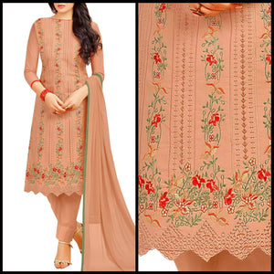 Lemon Tart Unstitched Cotton Formal Embroidered WLUF150 2 Piece Suit