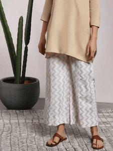 Lemon Tart Unstitched Gold Paste Printed Shalwar SHULT4