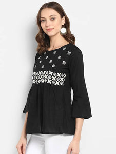 LT Fuse LTFUB18 Stitched Embroidered Top