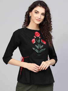 LT Fuse LTFUB19 Stitched Embroidered Top