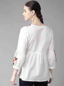 LT Fuse LTFUB21 Stitched Embroidered Top