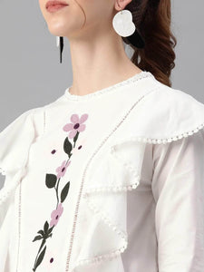 LT Fuse LTFUB24 Stitched Embroidered Top