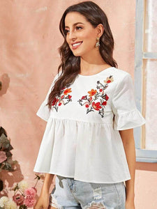 LT Fuse LTFUB42 Stitched Embroidered Top
