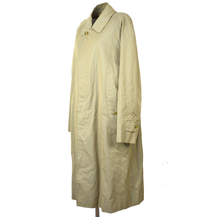 Burberry Long Sleeves Trench Coat Jacket Beige Cotton Single Breasted S09315e