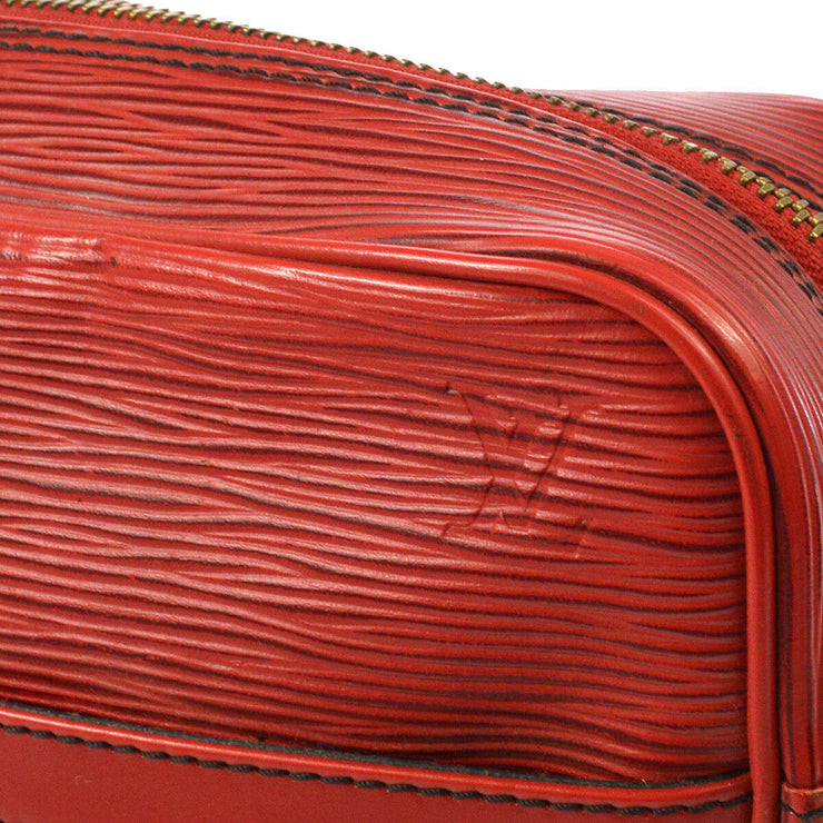 LOUIS VUITTON TROCADERO 27 CROSS BODY SHOULDER BAG EPI RED M52307 A43879j
