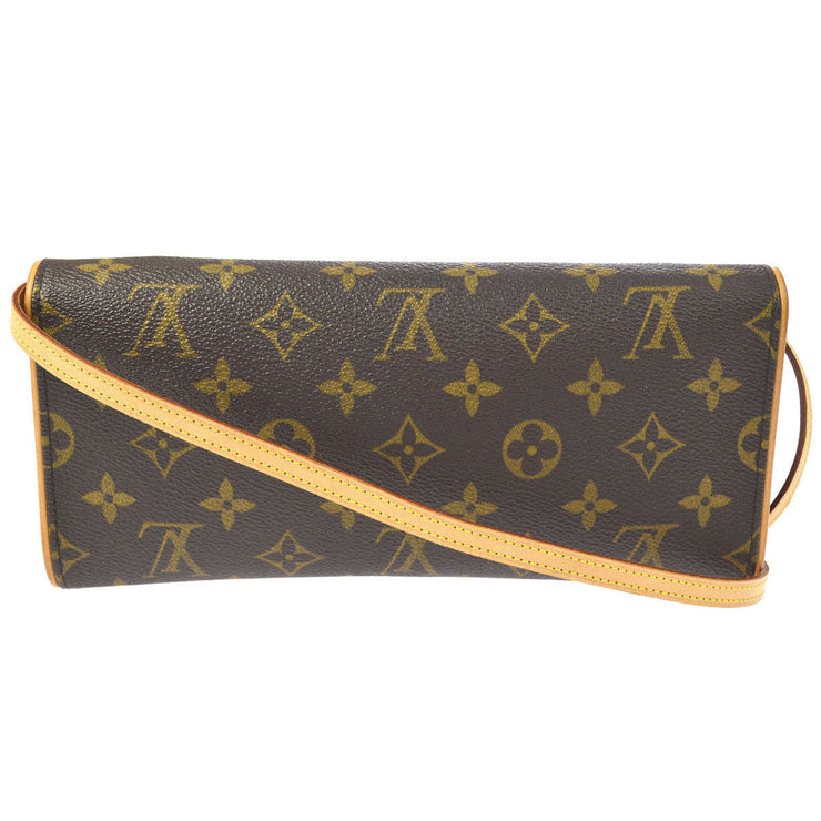 LOUIS VUITTON POCHETTE TWIN GM CROSS BODY SHOULDER BAG MONOGRAM AK31575g