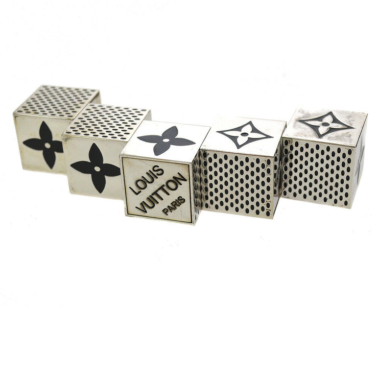 LOUIS VUITTON Cube Game Dice Monogram 2011 Xmas VIP Novelty AK16374b