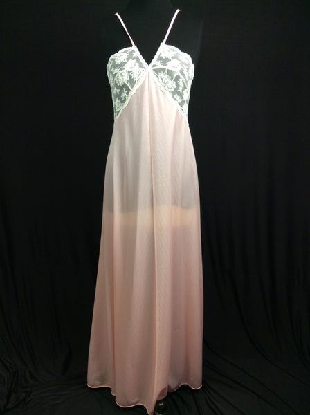 Vintage Long Nightgown Circa 1970's