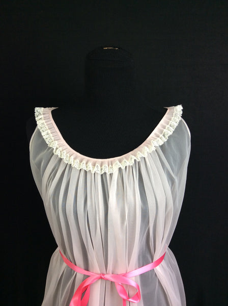 Real Vintage Sheer Negligee Circa 1960's