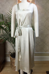Angeline Dressing Gown - Antique White