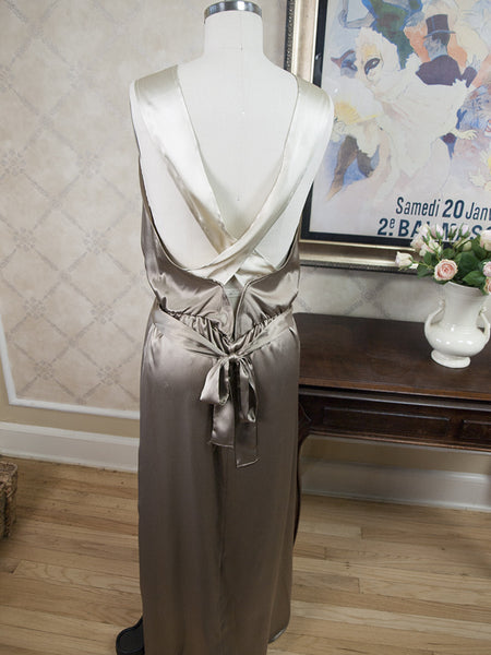 Chantal 1930's Nightgown in Turtledove