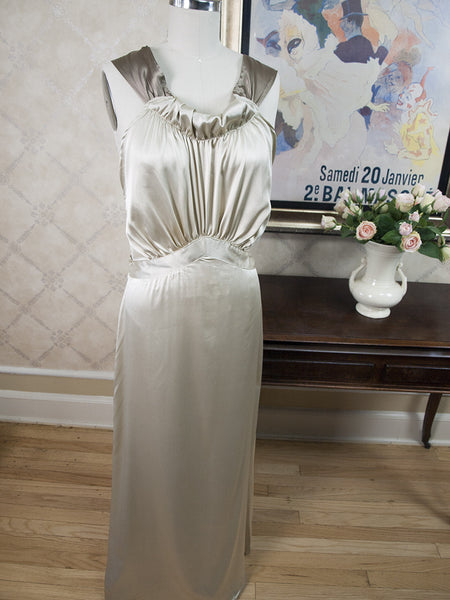 Chantal 1930's Nightgown in Ivory