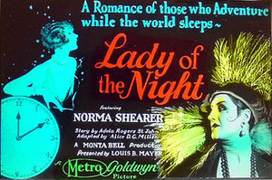 "Norma Shearer's ""Lady of the Night"" Agate Ring"