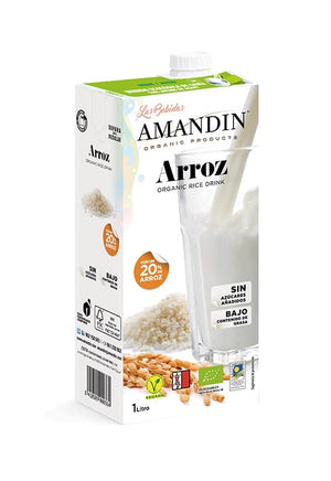 Organic Rice Drink with 20% rice (6 x 1L)
