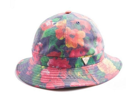 Washed Flower Bucket Hat